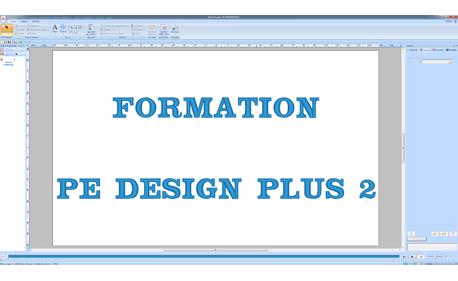 Formation PE Design Plus 2