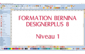 Formation Bernina DesignerPlus 8 - Niveau 1