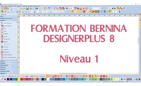 Formation Bernina DesignerPlus 8 - Niveau 1